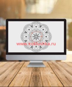"Видео к салфетке ""Питерская"""